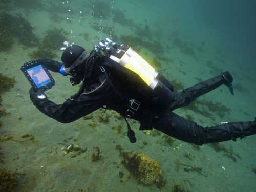 first underwater tablet computer spirit of diving blog