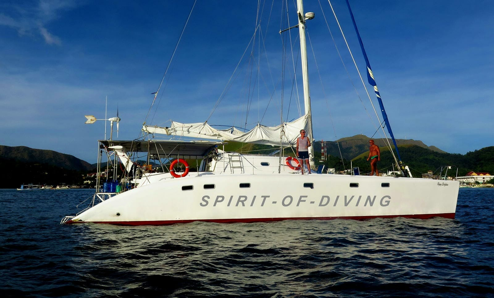liveaboard diving trips catamaran philippines